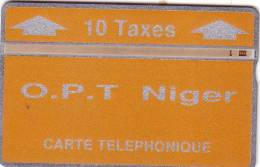 NIGER LANDIS ET GYR 10U ORANGE 404C....UT - Niger
