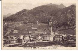VILMINORE DI SCALVE (BG) - PANORAMA - F/p - V: 1938? - Bergamo