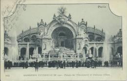 5501 - Paris Exposition Universelle De 1900 Palais De L'Electricité Et Château D'Eau - Ausstellungen