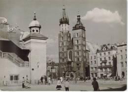 CPSM KRAKOW (Pologne) - Rynek Glowny - Pologne