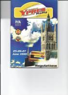 RALLYE - Belgian Ypres Westhoek Rally - Règlement 1999 - Automobile - F1