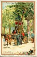 Chocolat Guerin Boutron  Série Moyen De Transports N°23 LE FIACRE - Guerin Boutron