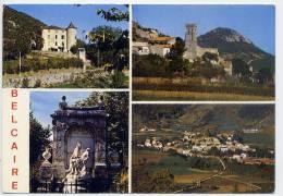 BELCAIRE-Vues Diverses (chateau,église, Monument Aux Morts,vue Générale) Cpm  N° 11355 éd Larrey - Frankreich
