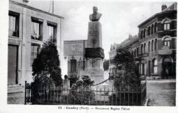 CAUDRY MONUMENT EUGENE FIEVET - Caudry