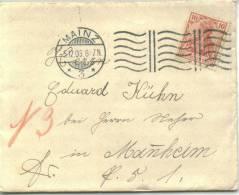 MAINZ 1906 Maschinenstempel - Deutschland