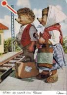 Allein Zu Zweit Ins Blaue ... MECKI-Karte, Um 1955, Verlag: Kunstfreunde, Gute Erhaltung - Mecki