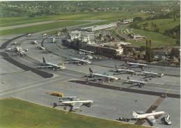 ZÜRICH AIRPORT  Swissair Postkarte SR 455 - Flugwesen