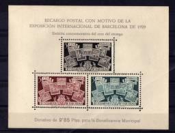 ESPAÑA - EDIFIL Nº NE 31 ** - AYUNTAMIENTO DE BARCELONA -  AÑO 1945 - Barcelona