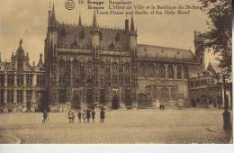 LA JUSTICEDE PAIX, L´HOTEL DE VILLE EE LA CHAPELLE DU ST SANG   BRUGGES  BELGIQUE   OHL - Brugge