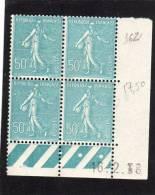 France :bloc De 4 TP Avec Coin Daté N°362 - 1930-1939