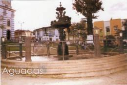 Lote PEP351, Colombia, Postal, Postcard, Caldas, Municipio De Aguadas, Plaza Bolivar - Colombia