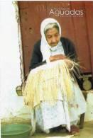 Lote PEP353, Colombia, Postal, Postcard, Caldas, Municipio De Aguadas, Tejedora De Sombrero, Mujer, Weaver Hat, Woman - Colombia
