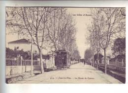 06.- JUAN-LES-PINS .- La Route De Cannes - Juan-les-Pins