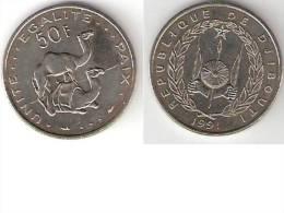 Djibouti 50 Francs 1991 Km 25 Unc  !!!!!!!!!   * - Djibouti