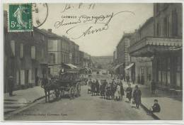 CARMAUX (TARN - 81) - CPA - ROUTE NATIONALE - DILIGENCE - Carmaux