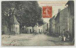 ARFONS (TARN - 81) - CPA - LA PLACE DU MARECHAL - LA MEUTE RENTRANT DE LA PROMENADE - France