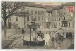 LACAUNE LES BAINS (TARN - 81) - CPA - PLACE DU GRIFFOUL - France
