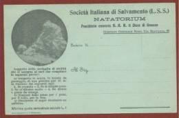 ROMA - SOCIETA' ITALIANA DI SALVAMENTO (L.S.S.) - NATATORIUM - NUOVA - Commercio