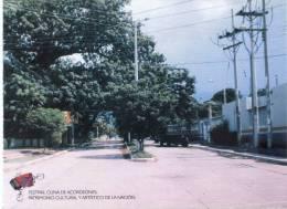 Lote PEP354, Colombia, Postal, Postcard, Festival Cuna De Acordeones, Villanueva, Guajira, Av. Hospital, Acordeon - Colombia