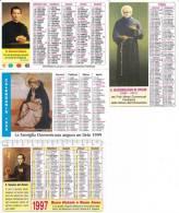 4 CALENDARIETTI PLASTIFICATI RELIGIOSI-VARI ANNI - Calendari