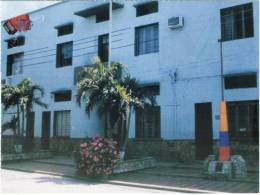 Lote PEP359, Colombia, Postal, Postcard, Festival Cuna De Acordeones, Villanueva, Guajira, Palacio Municipal, Acordeon - Colombia
