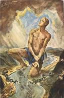 KUNSTLER THEO MATEJKO ZUM GEDENKEN AN DIE BEFREIUNG DES DEUTSCHEN RHEINES 1930 ENTWORFEN UND GEZEICHNET VON THEO MATEJKO - Non Classés