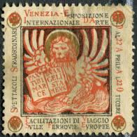 ERINNOFILO ESPOSZIONE INTERNAZIONAL D'ARTE DELLA CITTà DI VENEZIA LEONE DI SAN MARCO ANNO 1895 - Cinderellas