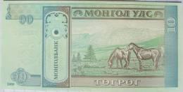 Mongolia - 10 Tugrik - 2009  -  Uncirculated - Mongolia