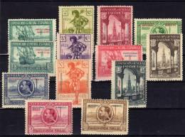 MARRUECOS - EDIFIL Nº119/31** - EXPOSICIONES DE SEVILLA Y BARCELONA - AÑO 1929 - Spaans-Marokko