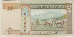 Mongolia - 50 Tugrik - 2009  -  Uncirculated - Mongolia