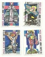 1983 - Vaticano 721/24 Anno Santo Straordinario - Christendom