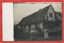 67 - LANGENSOULTZBACH - Carte Photo - Maison à Localiser - Sin Clasificación