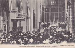 CPA 57  NOISSEVILLE ,Inauguration Du Monument.(Service à La Cathédrale.)animée... - France