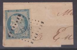 Lot N°19973  N°4/fragment, Oblit PC FOUCARMONT(74), Ind 6 - 1849-1850 Cérès