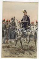 GARDE IMPERIALE 1857 - CHASSEURS A PIED -  (ILLUSTRATEUR M. TOUSSAINT) - Personnages