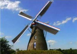 VLIERDEN Bij Deurne (N.Br.) - Molen/moulin - Mooie Opname Van De ´Johanna-Elisabeth´ In Werking Met Volle Zeilen - Deurne