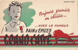 PAIN D'EPICES GRAND CASSE BROCHET FRERES BESANCON - Peperkoeken