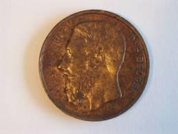 Medaille A. Fisch Leopold II Roi Des Belges - Grand Concours International Des Sciences & De L'industrie 1888 - Royaux / De Noblesse