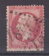 Lot N°19989  N°24a Rose Foncé, Oblit GC 3581 - 1862 Napoleon III