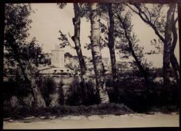 Ancienne GRANDE PHOTO Originale AVIGNON Vue Générale 84 TOUR CARRÉE PHILIPPE LE BEL Vers1900 - Lugares
