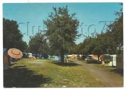 Vierzon (18) : L'intérieur Du Terain De Camping En 1987 (animée). - Vierzon