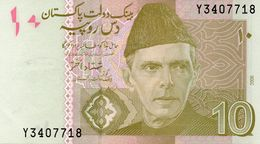 PAKISTAN 10 RUPEES 1972-1975 UNC P 21 - Pakistan
