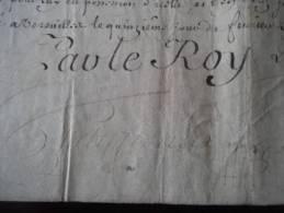 Rare Nomination  Sur Parchemin Signé LOUIS 1739   Bayeux  Nomination  Curé De Moon   Normandie - Documents Historiques