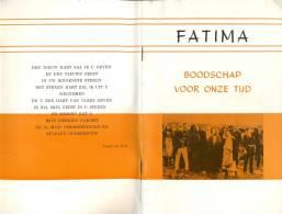 Brochure Devotie  Fatima - Verschijningen - Corimma Myriams - Sint Truiden - Livres, BD, Revues