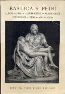 Brochure Devotie  Basiliek Sint Pieter Rome - Basilica S. Petri Roma - 1954 - Zonder Classificatie