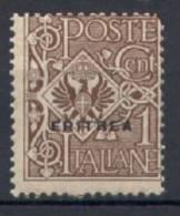 Eritrea 1924 Sass.77 **/MNH VF/F - Eritrea