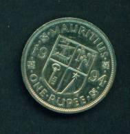 MAURITIUS -  1994  1 Rupee  Circulated As Scan - Mauritius