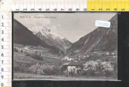S95992 MALE FRAZIONI PONDASIO E MAGRAS  PANORAMA - Trento