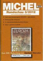 MICHEL Briefmarken Rundschau 3/2012 Neu 5€ New Stamps Of The World Catalogue And Magacine Of Germany - Deutsch (ab 1941)