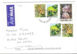 VER2098 - AUSTRALIA , Lettera Commerciale Per Gli USA - 1966-79 Elizabeth II